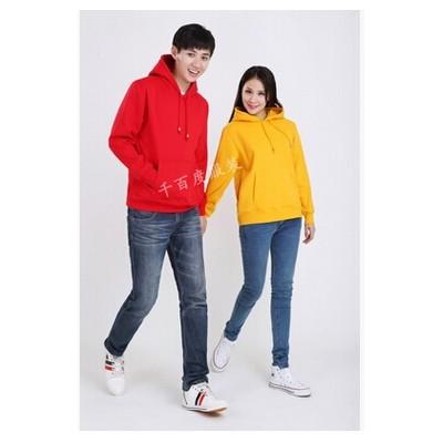 男女同款衛衣 純色套頭加絨衛衣 長款衛衣 休閑外套批發