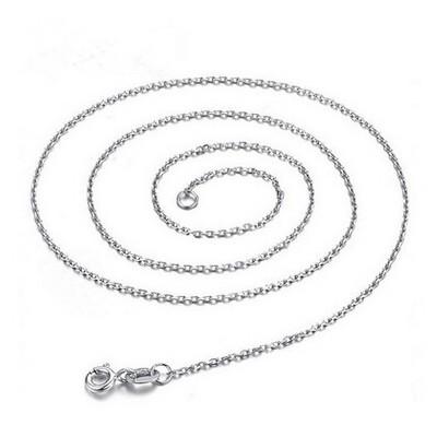 精品S925純銀項飾品 十字鏈 O型鏈 閃歐鏈 女士鎖骨鏈