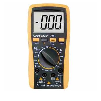數字電感電容電阻表VICTOR 6243+