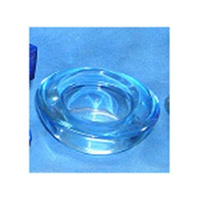 人工吹制玻璃燭臺玻璃方缸