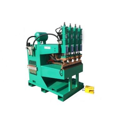 特殊定制氣動式四頭180KVA排焊機