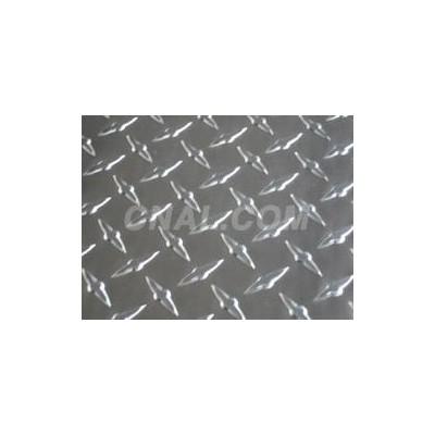 指针形花纹铝板