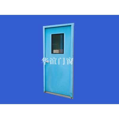 鋼制凈化門窗雙合噴塑鋼板門