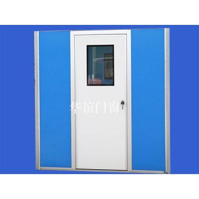 鋼制凈化門窗鋁合金門框噴塑鋼板門