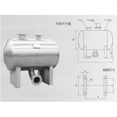 不銹鋼儲罐/304材質不銹鋼穩流罐