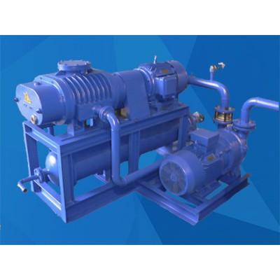 真空泵/氣冷循環羅茨液環真空機組