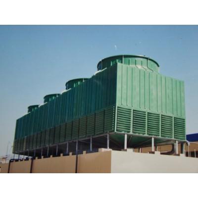 冷卻塔廠家/方形逆流式玻璃鋼冷卻塔節能特性的實現