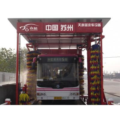 TB系列通過式大巴清洗機-電腦洗車機