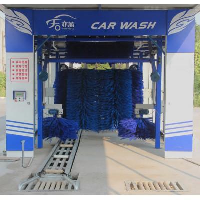 隧道式洗車機-電腦洗車機