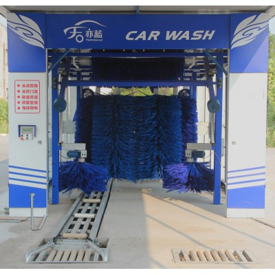 TS-900連續隧道式電腦洗車機-電腦洗車機
