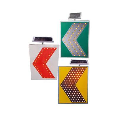 600*800交通標志 led誘導標志牌 太陽能彎道誘導標志