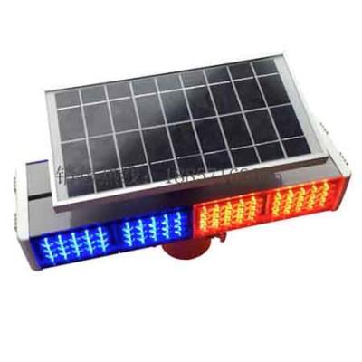 公路双面警示灯 led交通警示灯 太阳能警示灯价格