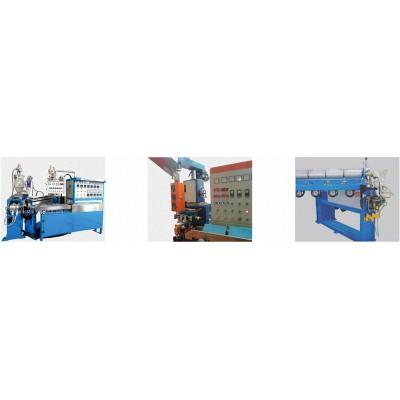 雙層擠(押)出機生產線-電線生產設備/網絡線設備/電線設備