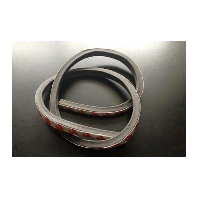 背膠硅膠發泡條-密封硅膠條/耐高溫硅膠條