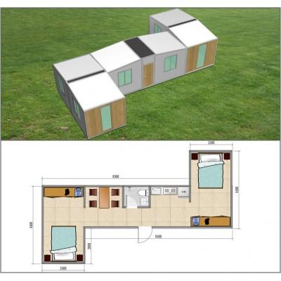 组合D房屋室内效果图-定制系列