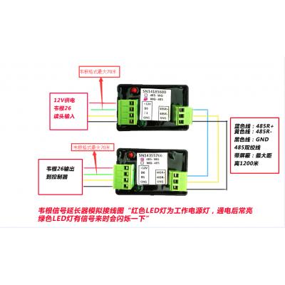 新长远WG26/34转485信号延长器 WG远距离传输控制