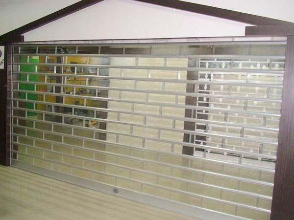 水晶门:商场水晶卷帘门