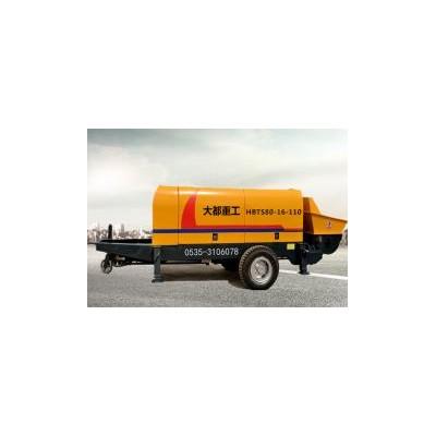 大都重工HBTS80-110混凝土泵