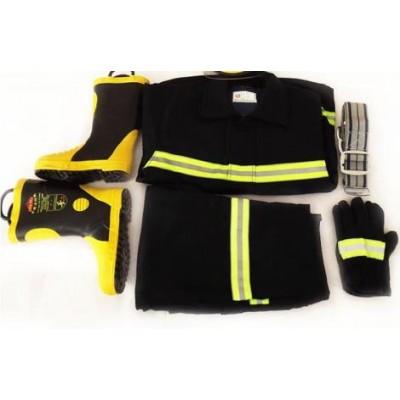 02款五件套消防戰斗服,消防防火服