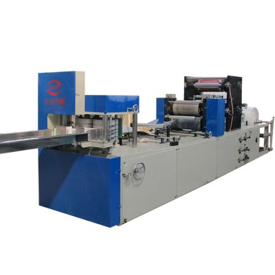 JN-CJ-1L-2P 单排双色印刷餐巾纸折叠机