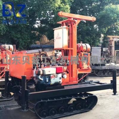 轻型履带式钻机农用水井钻机