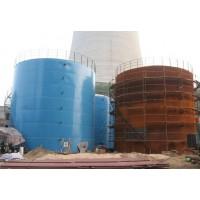 化工廠儲存罐聚脲噴涂