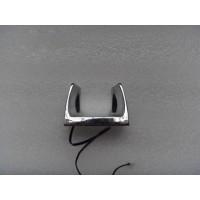 室外磁感應牛角電話機掛鉤壁掛式公話掛鉤