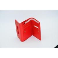 紅色女士折疊錢包
