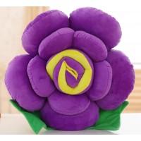彩色花朵造型抱枕