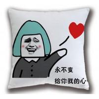 暴走漫畫金館長創意抱枕