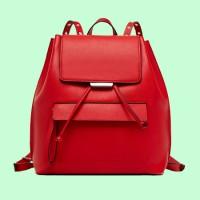 紅色休閑背包