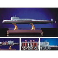 海軍1:200深海雷霆核潛艇模型