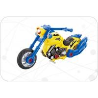 聲光自裝摩托車
