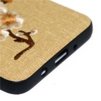 刺繡款三星S7手機貼皮皮套新品