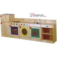 X58-8小天樂原木廚房組合五件套