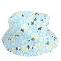兒童花色盆帽