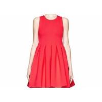 紅色空氣裙