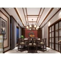 新中式餐廳-集成吊頂