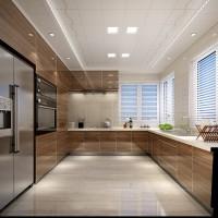 現代廚房-集成吊頂