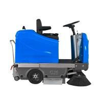 环卫电动扫地车(蓝色)生产商