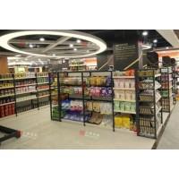 木背板優品雙面貨架(超市貨架)