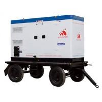 移動拖車柴油發電機組