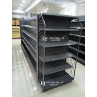 端頭帶側網貨架-超市貨架
