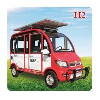 [太陽能電動四輪車] H2