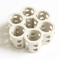 陶瓷全瓷填料多孔洗滌環