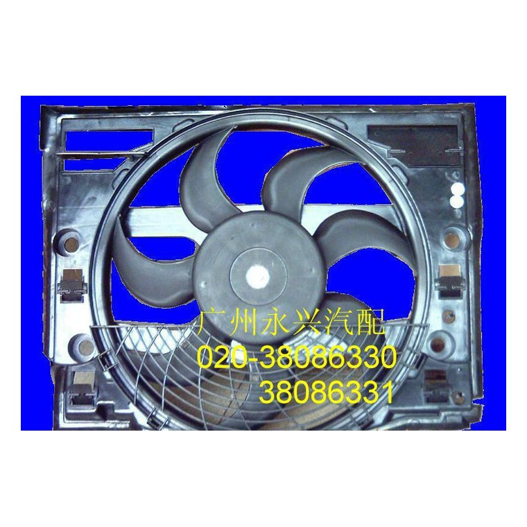 奔馳-220電子扇 奔馳204電子扇 奔馳電子扇 電子扇葉X3-51113419957