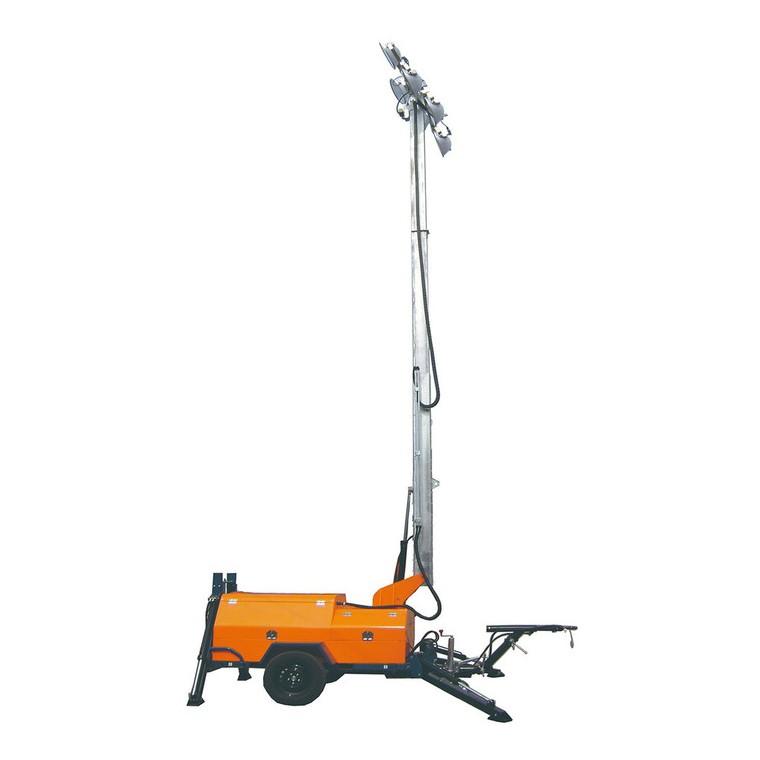鑫煤GNZM63C液压升降拖车式照明车,照明车型号,照明车优质