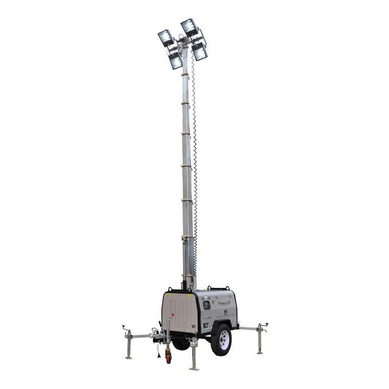 鑫煤GNZM61C液压升降拖车式照明车,照明车质量,照明车报价