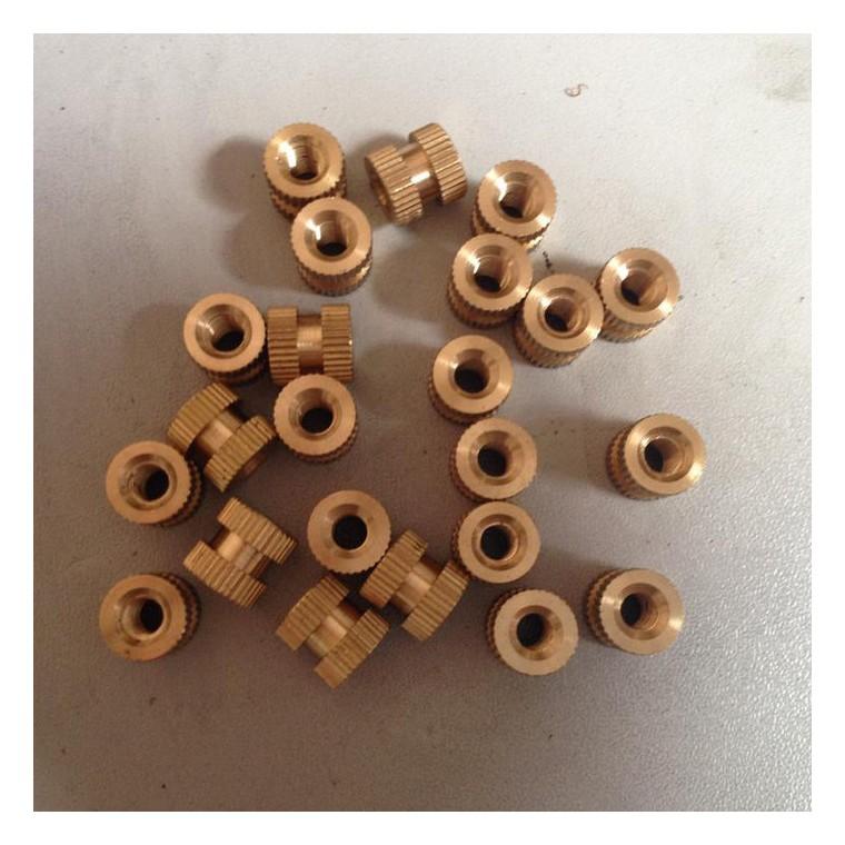 金榮和五金配件  五金五金加工 專業生產鑲嵌螺母  銅螺母