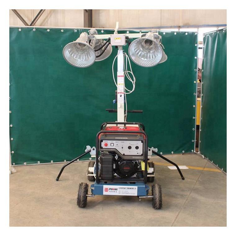 手推式工程照明车 防汛照明指挥车 smlv-400a移动照明车